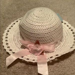 Beautiful girls Easter hat